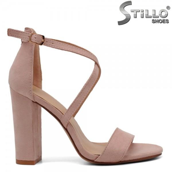 Sandale dama din velur ecologic - 32159