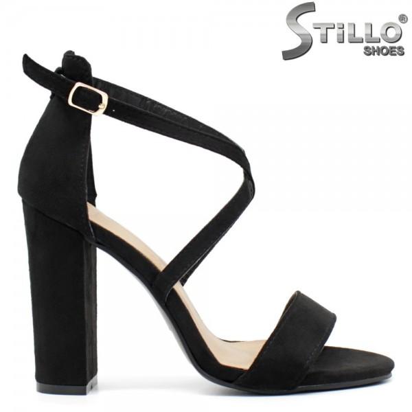 Sandale dama din velur ecologic - 32160