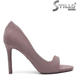 Pantofi dama din velur ecologic - 32161