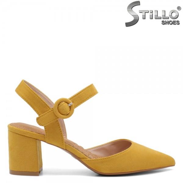 Sandale dama din velur ecologic - 32166