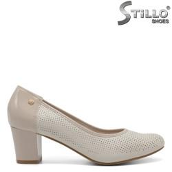 Pantofi dama din piele ecologica - 32167