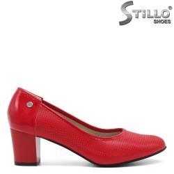 Pantofi dama din piele ecologica - 32168