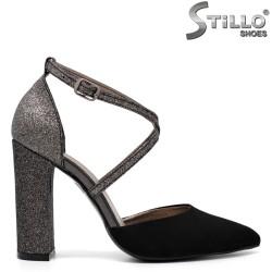 Pantofi dama din piele ecologica - 32236