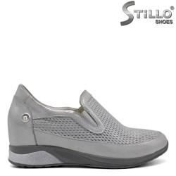 Pantofi dama tip sport din piele naturala - 32241