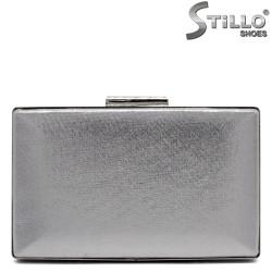 Geanta dama de ocazie  culoare argintiu- 32248
