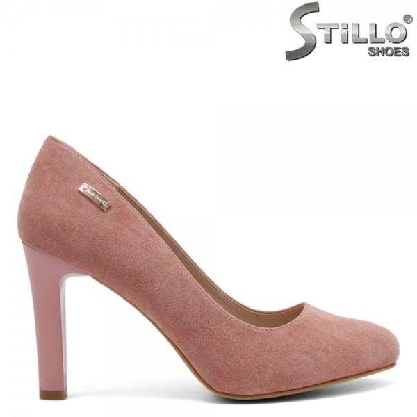 Pantofi dama din velur ecologic -32273
