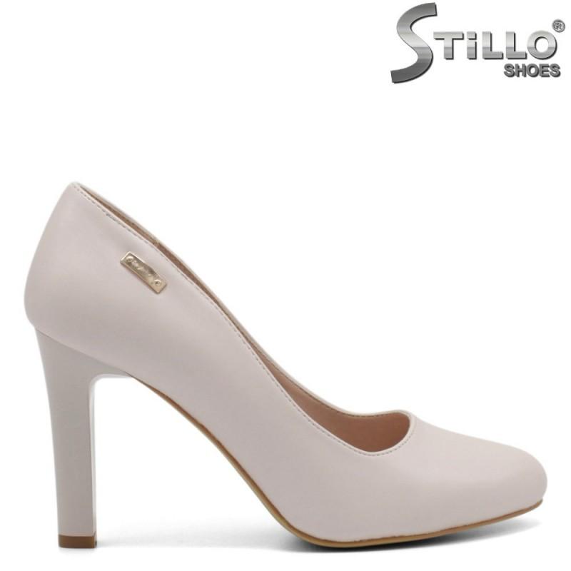 Pantofi dama din piele ecologica - 32274