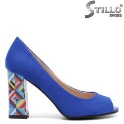 Pantofi dama din velur ecologic - 32275