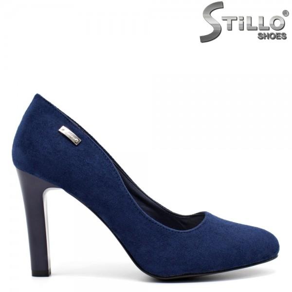 Pantofi dama din velur ecologic-32277
