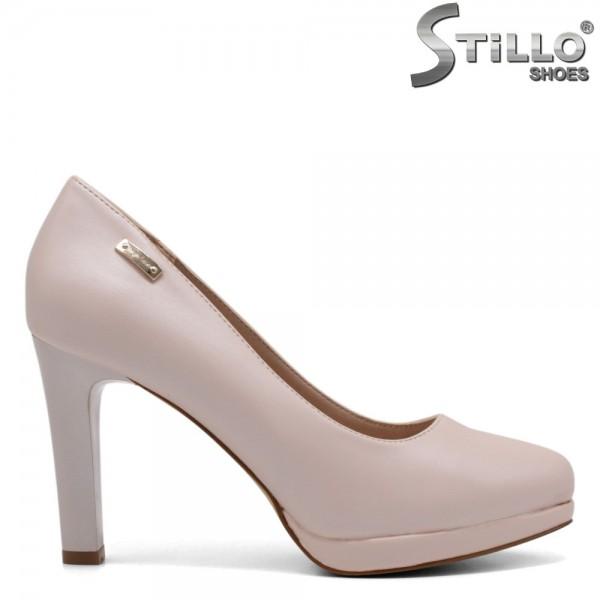 Pantofi dama din piele ecologica - 32283