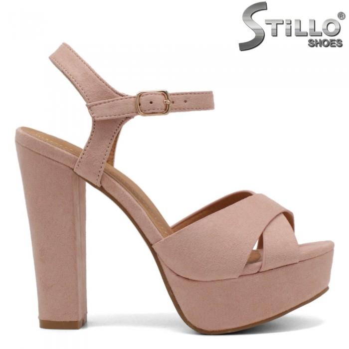 Sandale dama din piele ecologica - 32291