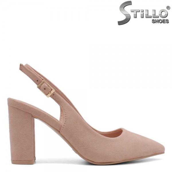 Pantofi dama din velur ecologic - 32294