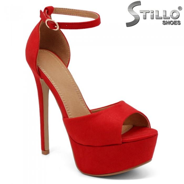 Sandale dama din velur ecologic - 32300