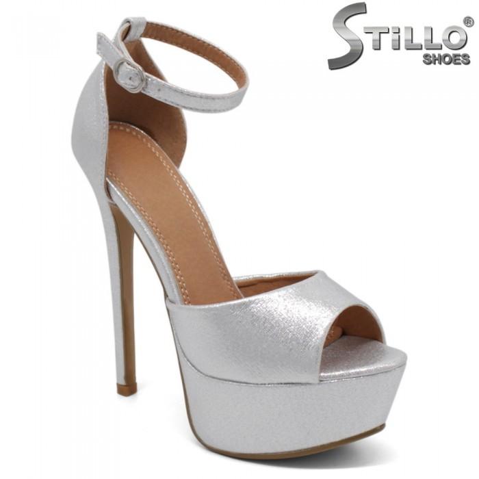 Sandale dama de ocazie din piele ecologica - 32302