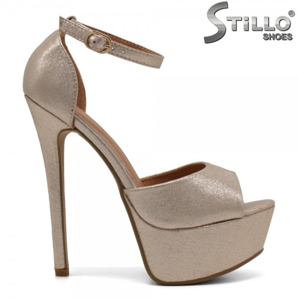 Sandale dama de ocazie din piele ecologica - 32304