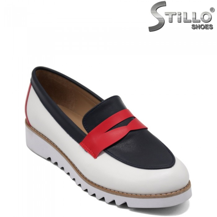 Pantofi dama din piele ecologica  model  TOMMY - 32310