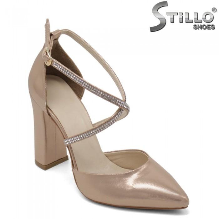 Pantofi dama din piele ecologica - 32313