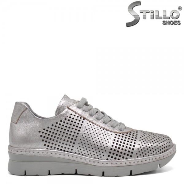 Pantofi dama tip sport din piele naturala - 32360