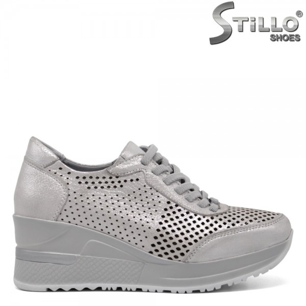 Pantofi dama tip sport din piele naturala - 32361