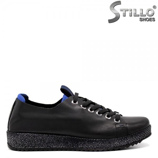 Pantofi dama tip sport din piele naturala - 32365