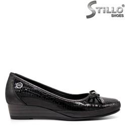 Pantofi dama din lac natural - 32367