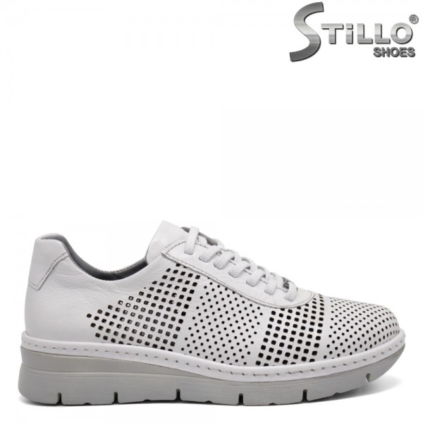 Pantofi dama tip sport din piele naturala - 32371