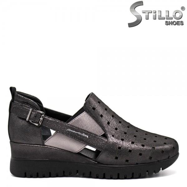 Pantofi dama tip sport din piele naturala-32372