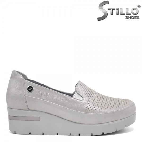 Pantofi dama tip sport din piele naturala - 32373