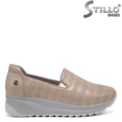 Pantofi dama tip sport din piele naturala - 32374