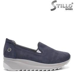 Pantofi dama  din nubuc - 32377