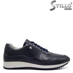 Pantofi barbati sport de culoare albastru - 32381