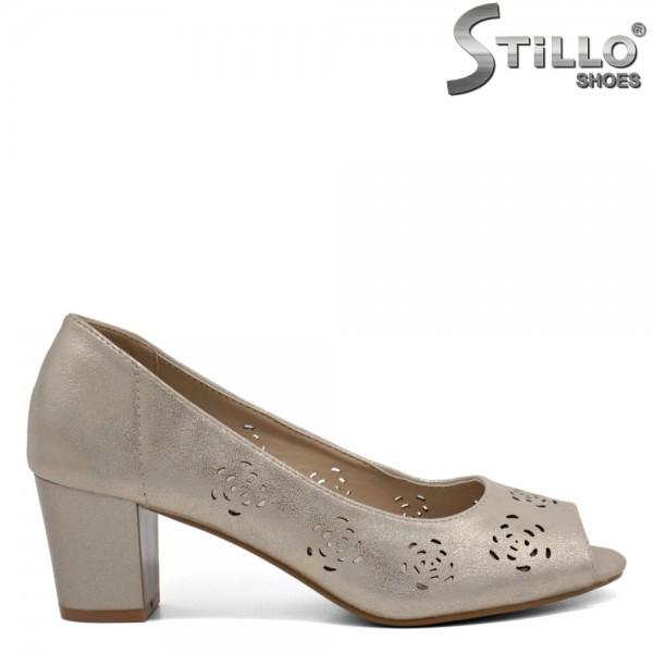 Pantofi dama din piele ecologica - 32385