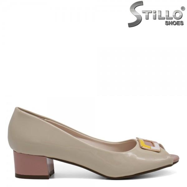 Pantofi dama din piele ecologica - 32386
