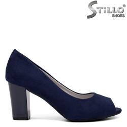 Pantofi dama din piele ecologica - 32387