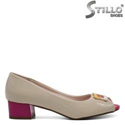 Pantofi dama din piele ecologica - 32388