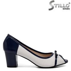 Pantofi dama din piele ecologica  - 32389