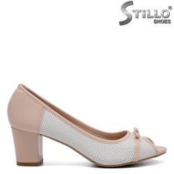 Pantofi dama din piele ecologica - 32390