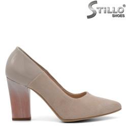 Pantofi dama din piele naturala - 32395