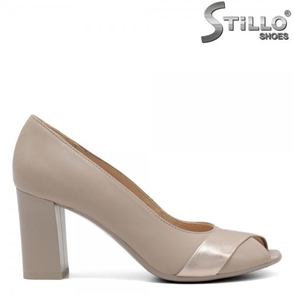 Pantofi dama din piele naturala - 32397
