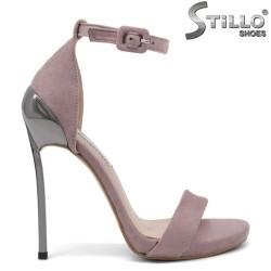Sandale din velur ecologic  elegante - 32412