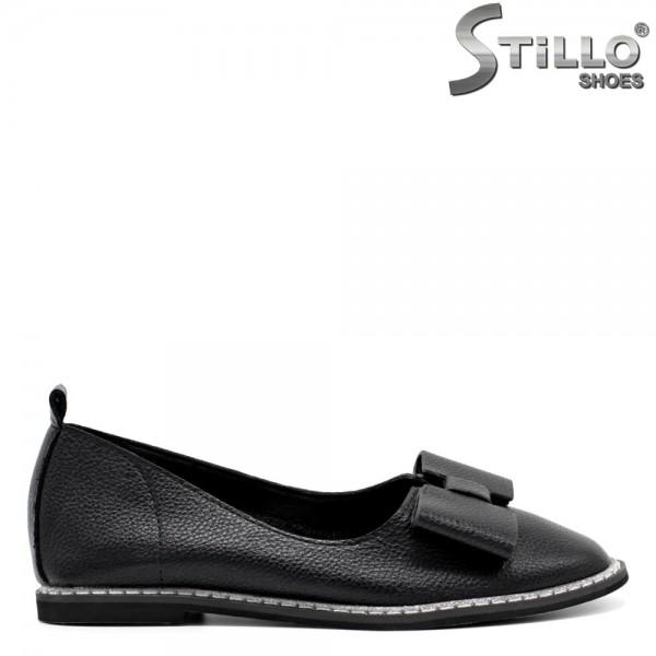 Pantofi dama cu toc jos cu funda -32420