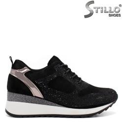 Pantofi dama tip sport din nubuc naturala-32422