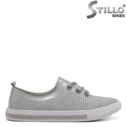 Pantofi dama tip sport din piele naturala-32423