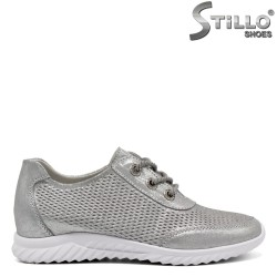 Pantofi dama tip sport din piele naturala - 32424
