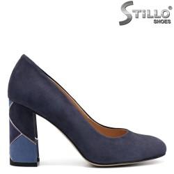 Pantofi dama din velur natural in trei culori-32431