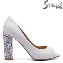 Pantofi dama din piele naturala - 32436