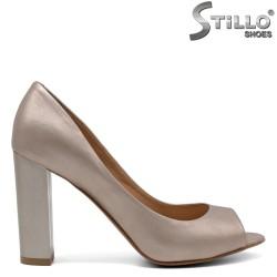 Pantofi dama din piele naturala - 32440