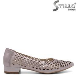 Pantofi dama din piele naturala - 32447