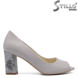 Pantofi dama din piele naturala - 32453