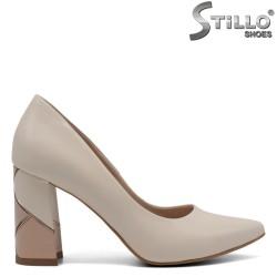 Pantofi dama din piele naturala - 32455